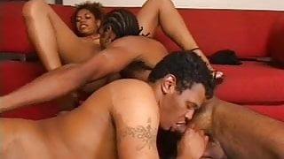 Black Bisexual Threesome