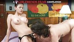 Vanessa Veracruz Lesbian Compilation - GirlfriendsFilms