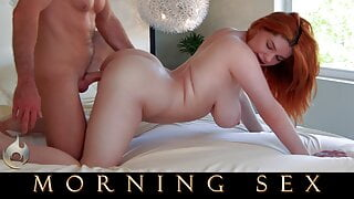 Morning Sex: Annabel Redd creampied with Laz Fyre