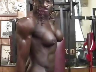 Female body and sex Amazing female body builder
