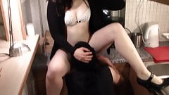 morning sex with slave, pussy worship, private