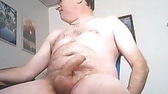 daddy wanking 002 with cum