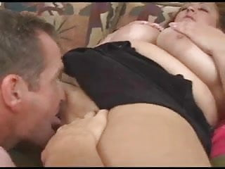 Busty fat anal - Busty fat wife sucks a big cock