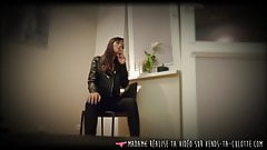 Vends-ta-culotte - French Smoking Dominatrix Babe with Strapon