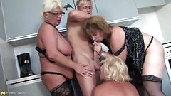 Young boy fucks 3 sexy MOM mom and MOM