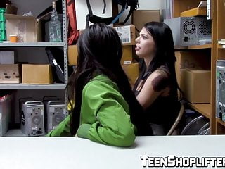 Crooked vagina Crook teen sluts apprehended and fucked for shoplifting