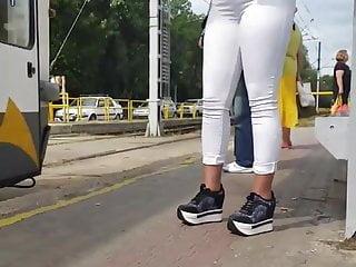 Brazilian jeans sexy Spy white jeans sexy ass romanian