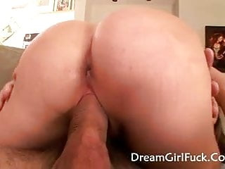 Sweet fucked Young brunette haley sweet fucked hard and cum