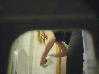 Hidden spy teen Blonde amateur teen toilet pussy ass hidden spy cam voyeur 5