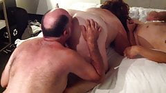 Liz gets gangbang and orgasm in Montreal