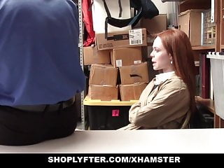 Striped african trade beads - Shoplyfter - redhead teen trades sex for no arrest