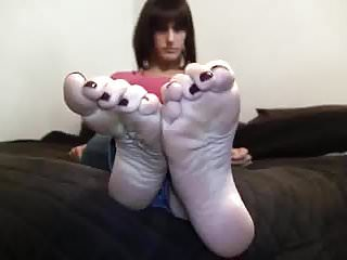 Erin at fetish by anna Erin feet tease