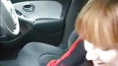 Horny old girl fingered and fucked in dogging encounter.