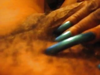 Curved dick gallery Long blue curved fingernails play with mans dick pt 1