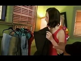 Dressing room pussy - Skinny teen chloe fucked in dressing room