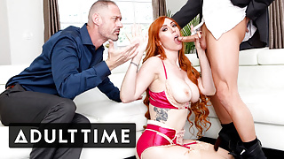 Cuckold Watches Busty Wife Fuck Their Therapist
