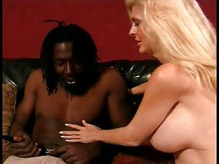 Grannys get cocks - White blonde with big tits loves to get a big black cock in her mouth