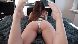 Schoolgirl Gets Dick In Her Mouth And Pussy