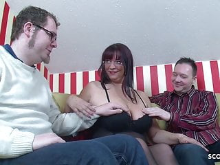Mothers getting fucked by sons friend - Big natural tits mother teach step son and friend to fuck