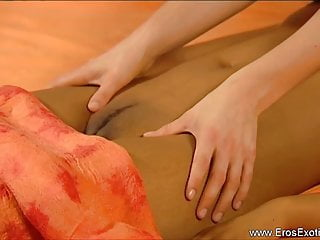 Lesbian female orgasm videos Loving massage between females