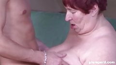 Fat mature woman loves younger dick