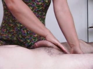 Penis massage mature video - Penis massage