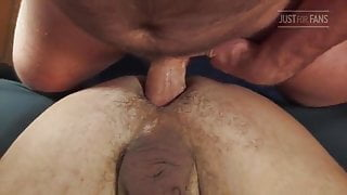 Young Hairy Bears At Play: Big Dick BB-BREEDING-CUM DRIPPING