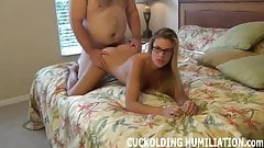 Your cock will never make me cum like his can