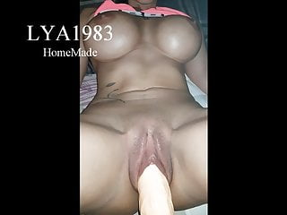 Muscular brunette blowjob - Lya1983 homemade3