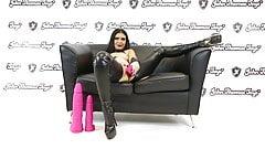 John Thomas CHUBBY CEDRICK Dildo FUCKS Roxee Couture's Pussy