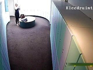 Visanthe shiancoe lockerroom penis video Spa voyeur lockerroom 1