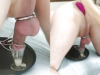 Wife Sits On His Face Then Milks His Prostate With E Stim