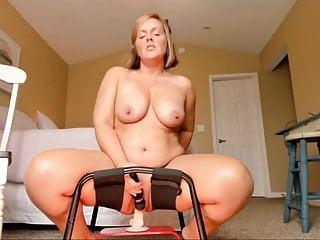 Chubby amateur wife video Chubby amateur wife riding a dildo