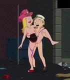 Cartoon porn dad american American dad