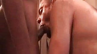 Interracial Daddies Making Out