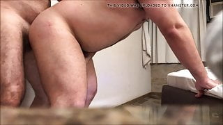 Stand up fuck and cumshot (Bareback with Fotorenan)