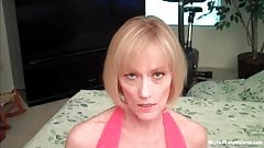 Sucking Her Step Sons Cock
