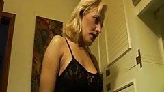 Hairy Italian Mamma anal