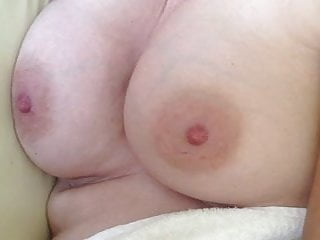 Inflammatory breast cancer after ductal carcinoma - Showing off and fondling wifes breasts after wake-up