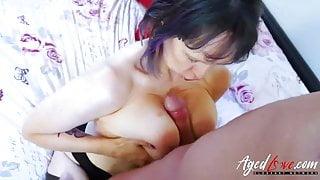 AgedLove Mature lady enjoying hardcore sexual intercourse