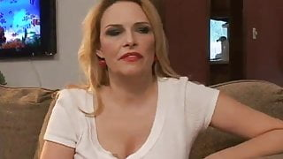 Eager blonde MILF aching for a fat dick