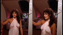Marina Sirtis in Star Trek