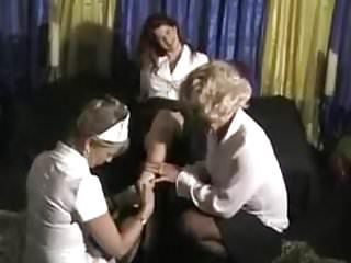 Crossdress heel leg shemale transgender tv - 3some tv