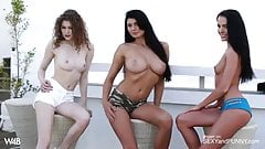 MY HAREM POSES NUDE - WHICH ONE WOULD YOU FUCK FIRST
