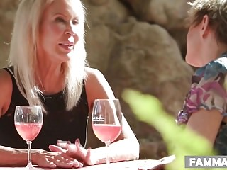 Dick clotfelter - My stepmom and her old friend want my dick