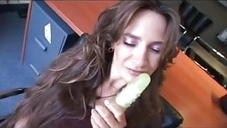 Jacklyn Lick Fingers And Plays With Herself