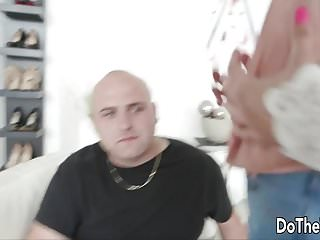 Girls sits on dicks - Petite brunette wife sits on fat dick