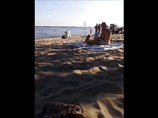 Exhibitionist nudist family - Asian nudist exhibitionist on okas nude beach