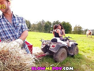 Country girls showing their tits Blow me pov - country girls are the sluttiest