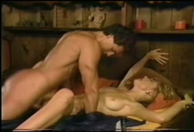 Vintage Peter North Threesome